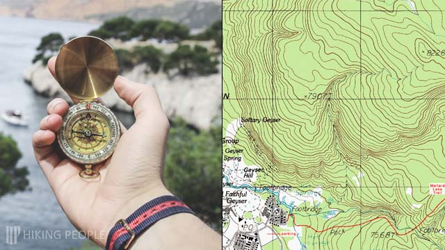 Hiking for Beginners - Topographic Maps and Compass