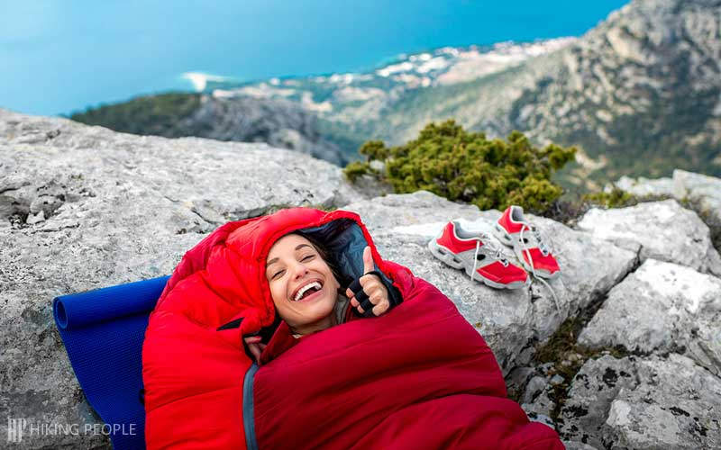 Warmth and Insulation of a Sleeping Bag