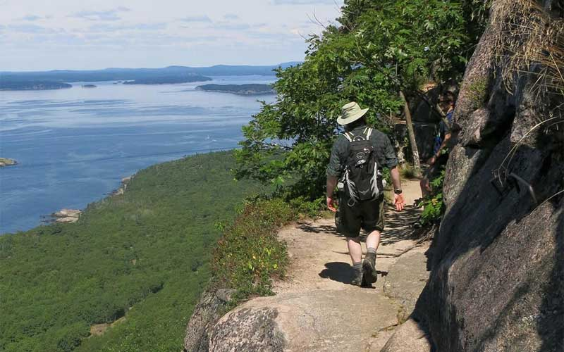 Precipice Trail - Bar Harbor, Acadia National Park, ME