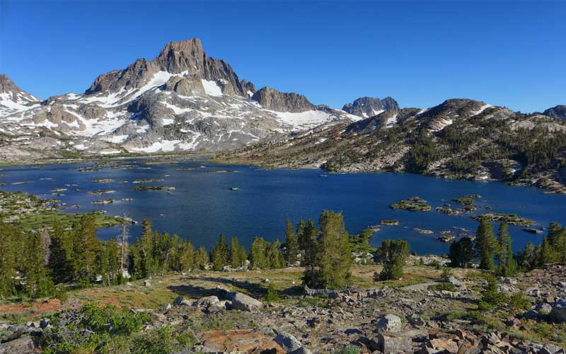 Thousand Island Lake - John Muir Trail