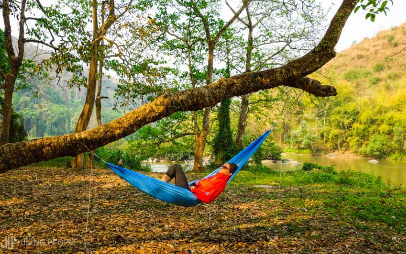 Slings of the Camping Hammock