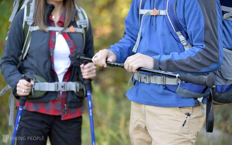 Adjustable Length Trekking Poles