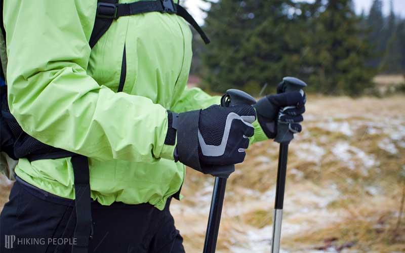 Handles of Trekking Poles