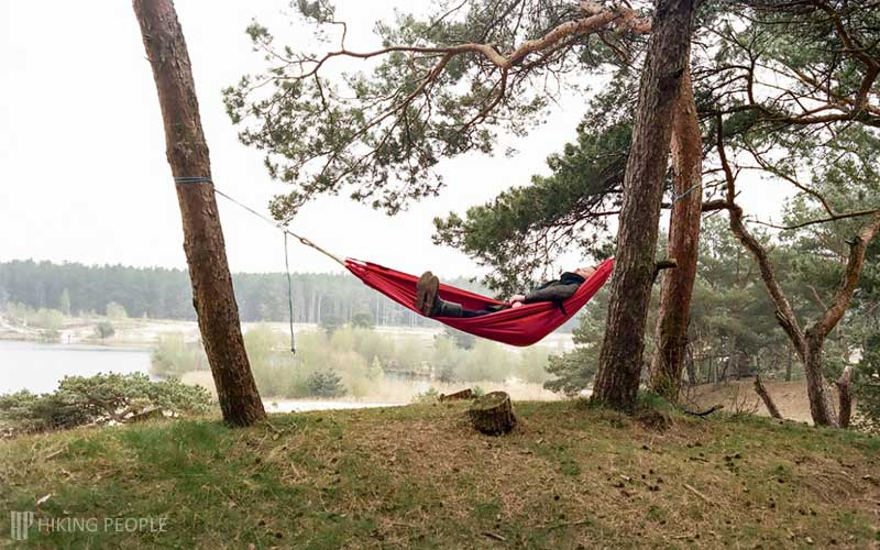 Where to Hang Camping Hammock