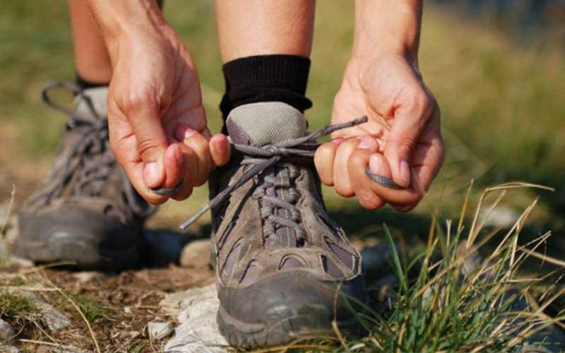 Hiker lacing boot