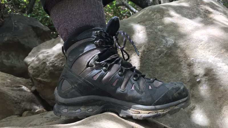 Hiking Boot showing midsole