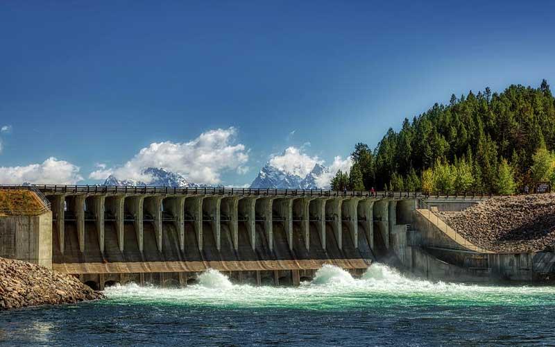 Jackson Lake Dam