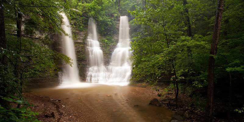 The 7 Hiking Trails in Arkansas with Waterfalls